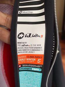 Size M Assos Habu 5 Road CX MTB Cycling Insulated Winter Jacket //Bonka Tiburu