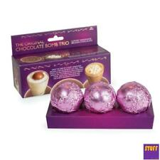 Triple Hot Chocolate Bomb Marshmallow Bedtime Choc Drink Kids Xmas Stocking Fill