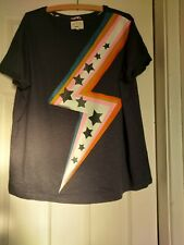 Make Time To Dream By Next T-Shirt Top Pyjama Navy Size Large Stars