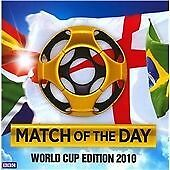 Match Of The Day- World Cup Edition, BBC, Very Good Double CD