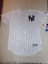 MLB NY New York Yankees Majestic Youth Kids Cool Base Jersey Sz Lg 14/16 NWT