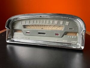 Vintage 1959 Ford Fairlane Galaxie FoMoCo Skyline Speedometer Instrument Cluster