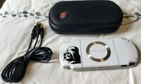 Sony PlayStation PSP 2001 Handheld 32 GB MOD Star Wars Over 4000 Games Built In