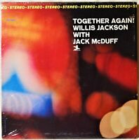 Willis Jackson with Jack McDuff Together Again RVG Jazz LP Vinyl Shrink Stereo
