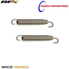 RFX 75MM STAINLESS END SWIVEL EXHAUST SPRINGS for YAMAHA YZ125 YZ250 96-17