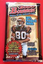 2000 Bowman NFL Football HOBBY Pack (Tom Brady Rookie Gold RC Urlacher Auto)?