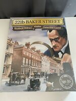 221b Baker Street Sherlock Holmes Master Detective Game Gibsons 1975 NEW SEALED