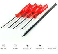 Timelab 6 PCS EXTRA BLADES for T-Shaped Bracelet Screwdriver Screwdrivers Korea