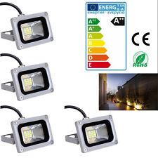 4 PCS Cool White LED Spot Light  Flood Light IP65 Outdoor Garden Lamp 10W DC 12V