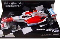 MINICHAMPS 400 050017 050086 050087 TOYOTA RACING TF105 F1 model cars 2005 1:43