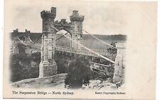 The Suspension Bridge - North Sydney  Kerry (Copyright) Sydney  Unused