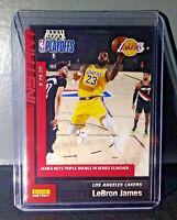 Lebron James 2019-20 Panini NBA Playoffs Instant #174 Basketball Card 1/168