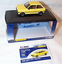 VANGUARDS FORD Fiesta Mk1 Festival Prairie Yellow RHD UK VA12509 ltd ed