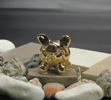 Swiggie Spardose Sparschwein Glücksschwein Metallic Gold 8,5 cm