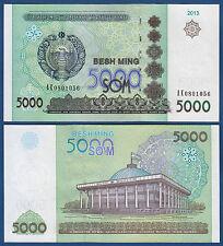 USBEKISTAN / UZBEKISTAN  5000 Sum 2013 UNC  P. 83