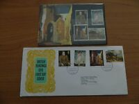 1968 PAINTINGS PRESENTATION PACK  + FIRST DAY COVER IN VERY GOOD  CONDITION