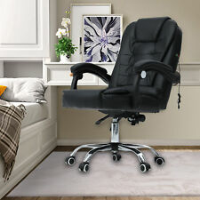 Ergonomic Office Chair Massage Reclining Computer Gaming Chair Height Adjustable