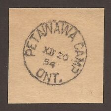 "CANADIAN FIELD POST OFFICE CANCEL ""PETAWAWA CAMP"" ON PIECE"