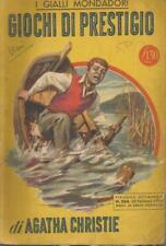 I gialli 264 Agatha Christie - Giochi di prestigio 1954 Mondadori