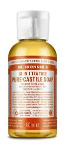 Dr Bronner Castile Liquid Soap - All Size and Scents