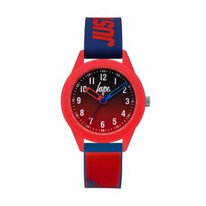 Hype Kids Red and Blue Strap Watch HYK011UR