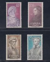 ESPAÑA (1967) NUEVO MNH SPAIN - EDIFIL 1791/94 PERSONAJES