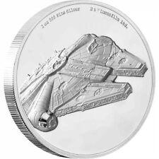 2018 Star Wars Ships MILLENNIUM FALCON  Niue 5 dollars 2oz silver proof coin UHR