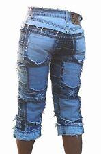 Ticila Vintage SEVEN STAR CAPRI Sexy Beach Club Short 3/4 Jeans size 42 W 32