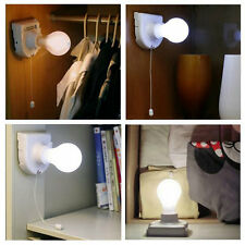 Stick Up Bulb Cordless Battery Operated Light Cabinet Closet Lamp Home Use UL