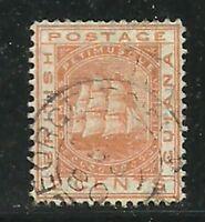Album Treasures British Guiana Scott # 73  2c Colony Seal VF Used CDS
