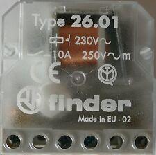 Finder 26.01.8.230.0000 Stromsto�Ÿschalter UP 1S 10A 230VAC      1 Stück