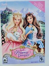 Barbie as the Princess and the Pauper CD-ROM (PC, 2004) NEW SEALED