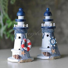 Starfish Wooden Lighthouse Nautical Themed Room Lighthouse Home Decor Gifts DIY