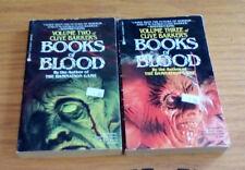 Clive Barker - Books of Blood - Volume 2 and 3 - PB  Berkley - Vintage 1986