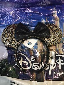 Disney Animal Kingdom Leopard Cheetah Minnie Ears Headband New In Hand
