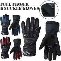 Hard Knuckle Motocross Motorcycle Gloves Full Finger Racing Bike Riding Skiing