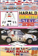 DECAL AUDI QUATTRO SPORT H.DEMUTH RAC R. 1986 DnF (06)