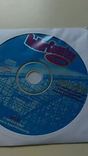 ROLLER COASTER TYCOON ***ORIG HASBRO RELEASE NEW SEALED CD ROM DISC ONLY SLEEVE