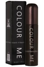 Milton Lloyd Men's Perfume - Colour Me Black - 50ml EDT - EAU DE TOILETTE