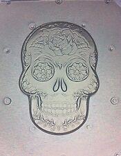 Flexible Resin Mold Medium Sugar Skull Day Of The Dead Mould
