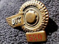Rare Denver Tramway Corp Badge 520 Transportation Colorado Trolley