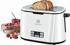 Electrolux Toaster 2 Scheiben Weiß PremiumLine Timer Cool Touch Gehäuse EAT7830