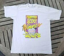 Vtg 80s 90s Las Vegas Frontier Casino Winner T Shirt Size Large Single Stitch