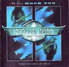 CD - We Will Rock You - Classic Rock ( Doppel CD )