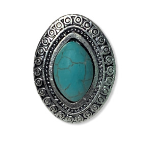 Created Turquoise Lapis Lazuli    Antique Style Setting 925 Sterling Silver Ring Jewelry Ring Size 8  US Jewelry Best Gift BP 2566