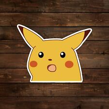 Surprised Pikachu Meme (Pokemon) Decal/Sticker