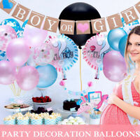 Baby Shower Foil Balloon Air Inflatable Party Decoration Boy or Girl