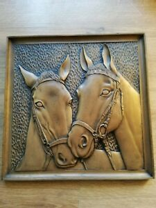 Horse Head wall plaque 3D Picture