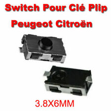 2 Switch Bouton CLEF PEUGEOT 206 206SW 206CC 307 406 envoi rapide