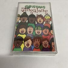 SING-A-LONG Cassette Christmas Music Peter Jacobs New Sealed